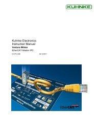 Ventura INtime Instruction Manual pdf - Kuhnke
