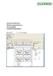 Arriva Designer DE Bedienungsanleitung pdf - Kuhnke