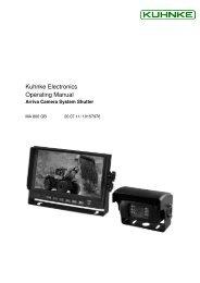 MA 800 GB_Arriva Camera  System Shutter Manual - Kuhnke