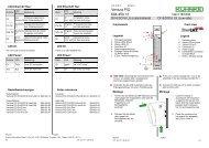 Ventura FIO DI16DO16 LS Beipack pdf - Kuhnke