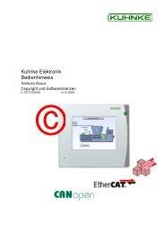 Software license Instruction Manual pdf - Kuhnke