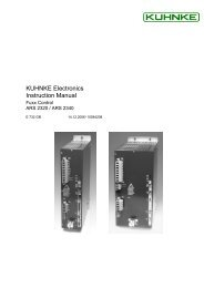 Fuxx Control - ARS 2320 / ARS 2340 Instruction Manual - Kuhnke