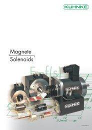 Magnete Solenoids - Kuhnke