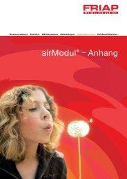 airModul® – Anhang - Friap AG