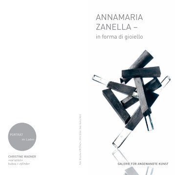annamaria Zanella – - Bayerischer Kunstgewerbeverein e.V.