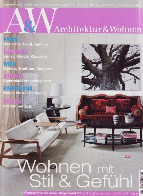 A&W Oktober 2012 - Kunstkammer Georg Laue