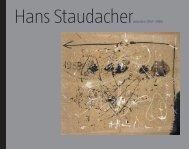 Hans StaudacherArbeiten 1957–1986 - KunstNET Österreich