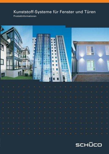 Kunststoff-Systeme für Fenster und Türen - Fenster Arena