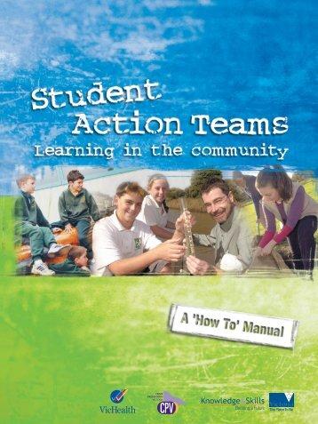 StudentActionTeamsManual2003