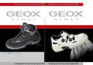 GEOX Katalog 2010 (600 KB) - Kokott Berufskleidung