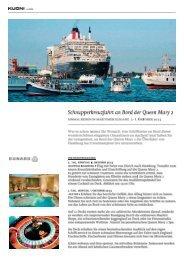 Kurzreise auf der Königin der Meere - Kuoni Reisen