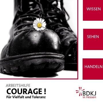 Arbeitshilfe Courage! Für Vielfalt und Toleranz - gegen ...