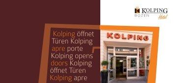 Kolping öffnet Türen Kolping apre porte Kolping opens doors ...