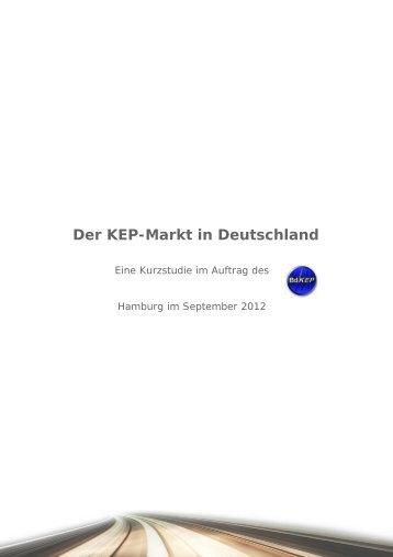 Kurzstudie KEP-Markt 2012 - BUNDESVERBAND DER KURIERE ...