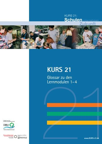 Glossar Lernmodule (PDF druckoptimiert -> 1,7 MB) - Kurs 21