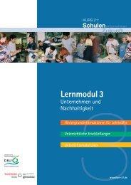 Informationen zu Lernmodul 3 - Kurs 21