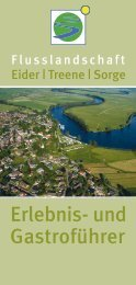 Eider / Treene / Sorge Flusslandschaft Download - Kurs Kappeln