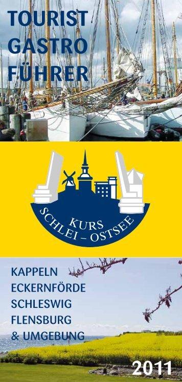 Tourist Gastro Führer 2011 - Kurs Kappeln