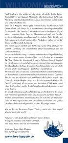 Tourist Gastro Führer 2011 - Kurs Kappeln - Seite 3