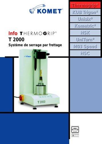 Système de serrage par frettage Thermogrip T2000 - komet group