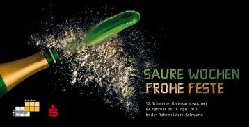 Saure Wochen Frohe FeSte - KuWeBe