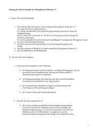 aktuelle Satzung - Kreisverband der Kleingärtner Delitzsch e.V.