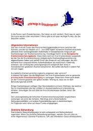 Ferien in Grossbritannien - Gemeinsame Einrichtung KVG