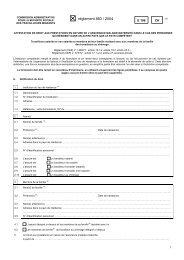 E 106 Droit aux prestations en nature - Gemeinsame Einrichtung KVG