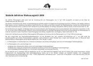 Statistik definitiver Risikoausgleich 2009 - Gemeinsame Einrichtung ...