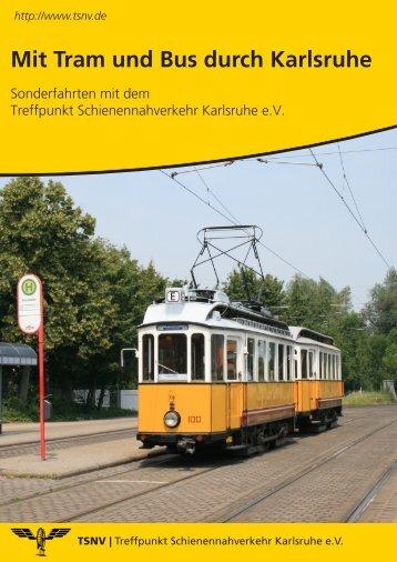 Sonderfahrten - KVV - Karlsruher Verkehrsverbund