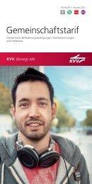 Gemeinschaftstarif - KVV - Karlsruher Verkehrsverbund