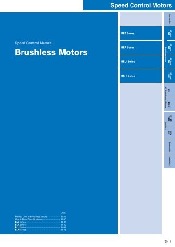 Brushless Motors/BLF - Kwapil & Co
