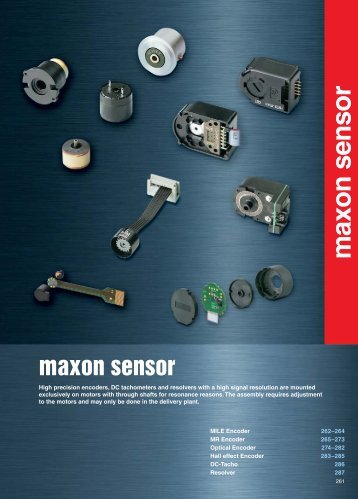 maxon sensor