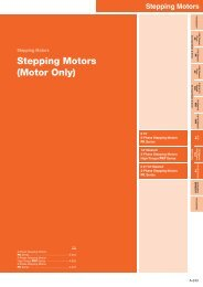 Stepping Motors (Motor Only)