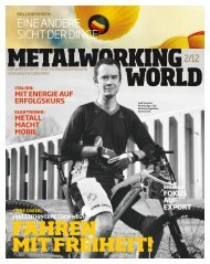 Metalworking World 2/2012 - Sandvik Coromant