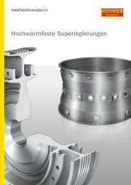 Hochwarmfeste Superlegierungen - KW-Werkzeuge