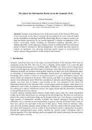 The Quest for Information Retrieval on the Semantic Web