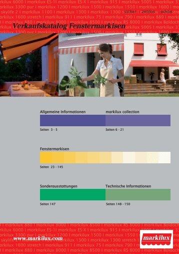 Fenstermarkisen (PDF) - Labatzki GmbH