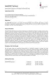 SALMOTYPE Pig Screen - Labor Diagnostik GmbH