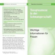 Toxoplasmose in der Schwangerschaft - Labor Enders & Partner