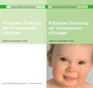 Screening auf Chromosomenstörungen - Labor Enders & Partner