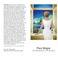 Paul Magar - Konz