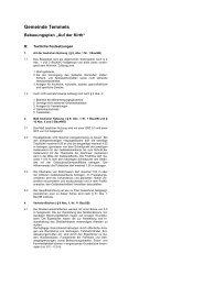 Textfestsetzungen - Konz