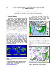 5.3 INTERACTIVE FORECAST VISUALIZATION TOOLS FOR THE ...