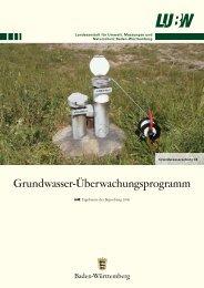 grundwasser ueberwachung ergebnisse 2006 - BOA: Baden ...