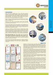 Gestaş Mavi Katalog 2007