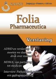 Folia jaargang 99 - Nr.4 - 2012 - Koninklijke Nederlandse ...