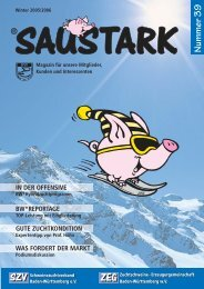 Saustark-Magazin Nr. 39 - German Genetic
