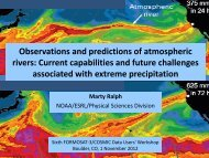 Observations and predictions of atmospheric rivers ... - COSMIC