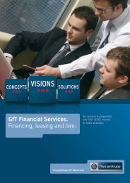GfT Financial Services. Financing, leasing and hire. - ThyssenKrupp ...